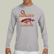 Broncos - N3165 A4 Long-Sleeve Cooling Performance Crew Neck T-Shirt